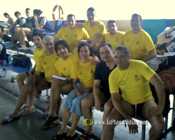 Noticias de vila real los masters del club nataci vila real participaron en el campeonato - Piscina olimpica castellon ...