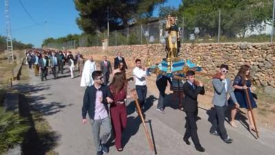 Borriol va en procesión al ermitorio de Sant Vicent
