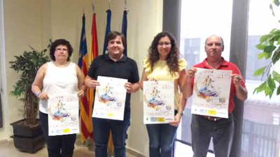 Borriana celebra la tercera Holi Colors Happy Race a l'Arenal