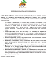 Comunicado de la falla Club 53 de Burriana